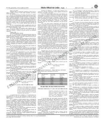 Portaria Normativa nº 5 - Ministério do Planejamento, Orçamento e ...