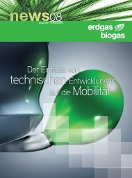 auf die Mobilität - Le gaz naturel / biogaz - carburant du futur!
