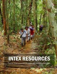 INTEX RESOURCES - The International Resource Journal