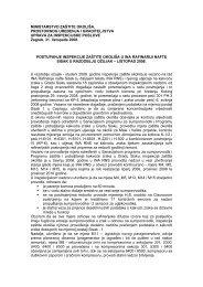 listopad 2008. - Ministarstvo zaštite okoliša i prirode RH