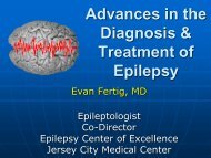 Advances in the Diagnosis and Treatment of Epilepsy-Dr. Evan Fertig