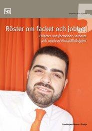 Röster om facket och jobbet - LO