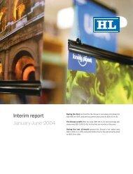 Interim report January-June 2004 - HL Display