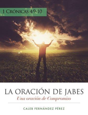 LA ORACIÓN DE JABES - Iglesia Presbiteriana de Valparaiso