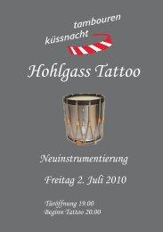 Hohlgass Tattoo - bei den Tambouren Küssnacht am Rigi