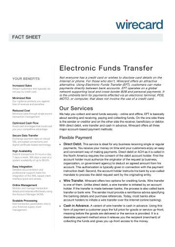 electronic fund transfer system pdf