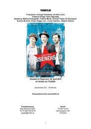 Russendisko – Presseheft - Thimfilm