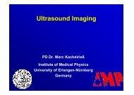 PowerPoint - Ultrasound Imaging - Instituts für Medizinische Physik