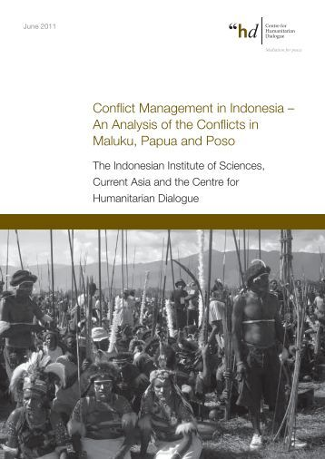 Ethno-Religious Conflict in Maluku
