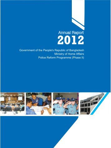 Annual Report - Police Reform Programme