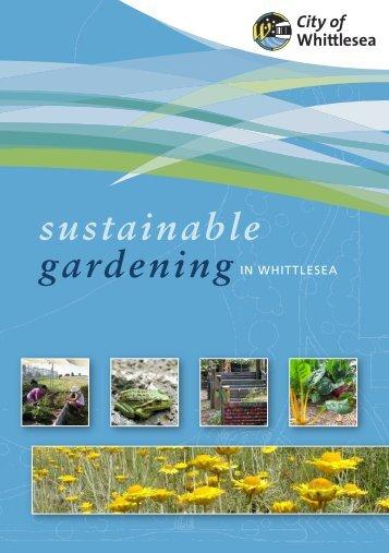 Sustainable Gardening - City of Whittlesea