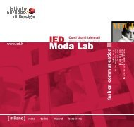 IED Moda Lab - IM education