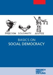 Basics on Social Democracy - Friedrich-Ebert-Stiftung, Ghana Office