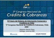 El Futuro del Sistema de Información Comercial y ... - SINACOFI