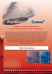 Cinghie sincrone Poly Chain GT Carbon - Tecnica Industriale S.r.l.