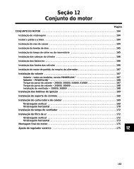 Seção 12 Conjunto do motor