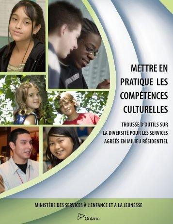 PDF imprimable - Ministry of Children and Youth Services