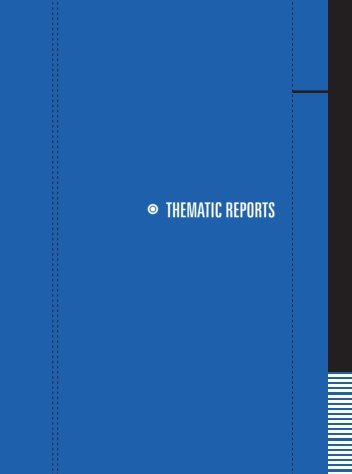 Download the Thematic Reports section in one large ... - Social Watch