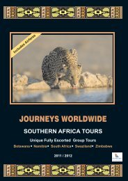 JW-SOUTH AFRICA INSIDE For Web Nov2010 - Journeys Worldwide