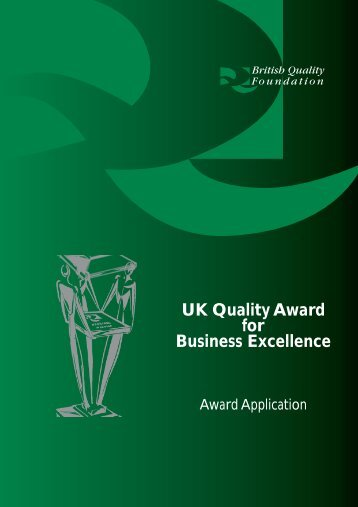 UK Quality Award for Business Excellence - The Institute of People ...