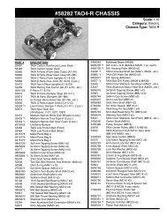 58282 tao4-r chassis - Tamiya
