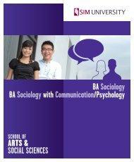 SOCIAL SCIENCES - SIM University