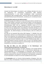 Weltmilchtag am 1. Juni 2009 Anlässlich des Weltmilchtages und ...