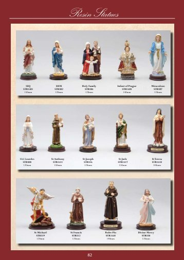 Resin Statues - Christian Supplies