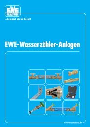 EWE-Wasserzähler-Anlagen zähler-Anlagen