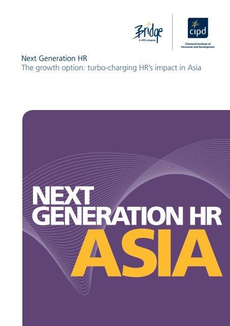 NEXT GENERATION HR - CIPD