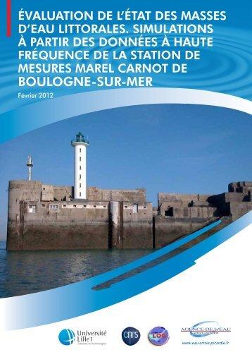 BOULOGNE-SUR-MER - Les documents techniques sur l'eau