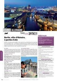 BERLIN ALLEMAGNE - Verdié Voyages
