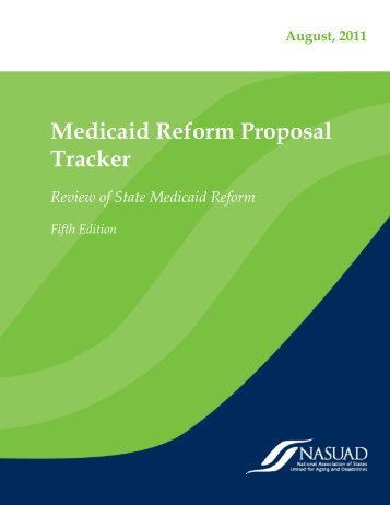 Medicaid Reform Tracker - National Association of States United for ...