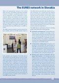 EURES - Ústredie práce, sociálnych vecí a rodiny - Page 7