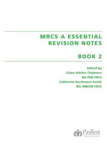 mrcs essential revision notes pdf