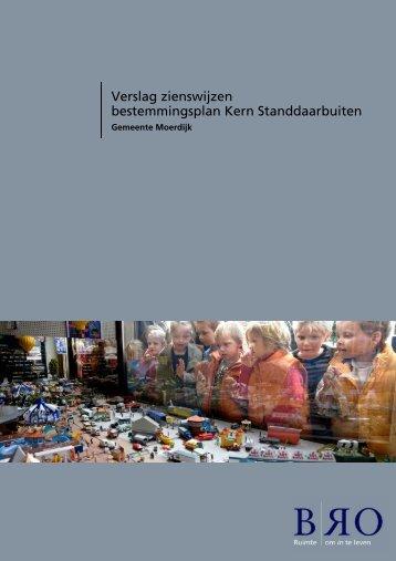 verslag zienswijzen - gemeente Moerdijk