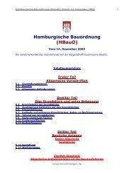 Hamburgische Bauordnung (Hbauo)