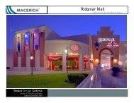 Ridgmar Mall Food Court Criteria - Macerich