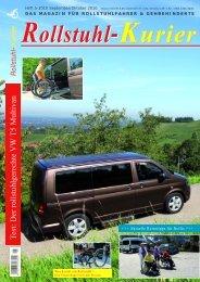 VW T5 Multivan als rollstuhlgerechtes Fahrzeug umfunktioniert Bericht