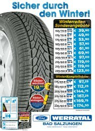Kuga 235/60 R 16 H - Ford Autohaus Werratal