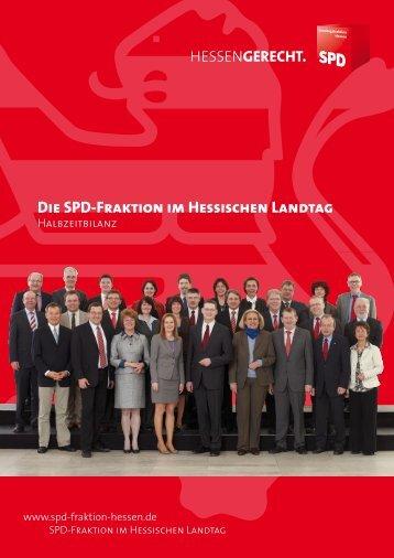 Die SPD-Fraktion im Hessischen Landtag - Günter Rudolph, MdL
