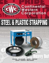 Strapping Catalog - Trident Supply LLC
