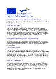 Comenius - Internetauftritt der Realschule Füssen