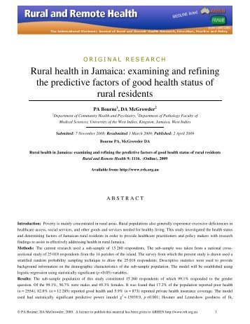 health journal