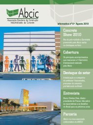 Concrete Show 2010 Cobertura Destaque do setor ... - ABCIC