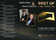 BEST OF Institut Ritter in Erfurt am 2. Mai 2012 - Steffen Ritters Blog ...