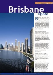 Brisbane Eguide - Australia Travel Guide