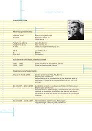 Curriculum vitæ Données personnelles Prénom, nom Markus ...