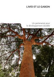 L'AFD ET LE GABON - Agence Française de Développement