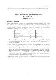 Klausur WS 2009/10